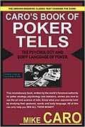 recommended poker books: Caro's Book of Poker Tells