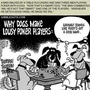 Common Poker Tells