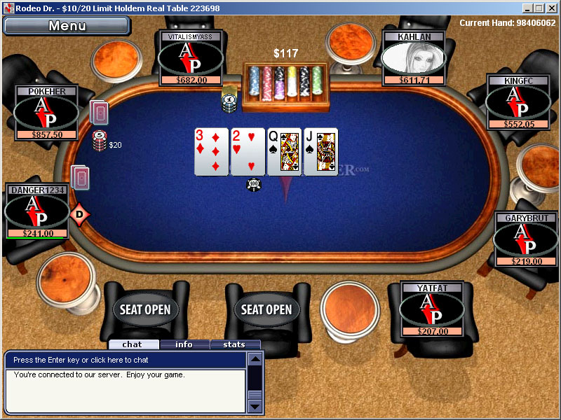 free absolute poker games