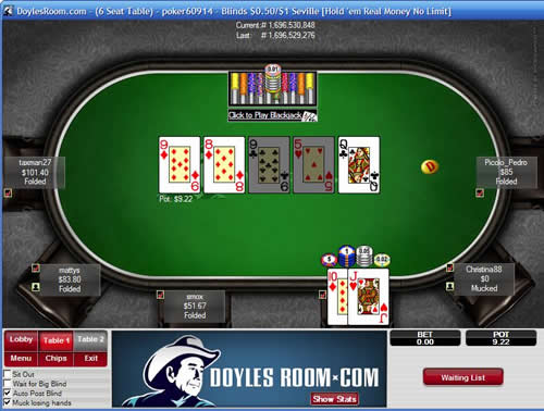 Doyles poker room online how to make a slot machine jammer